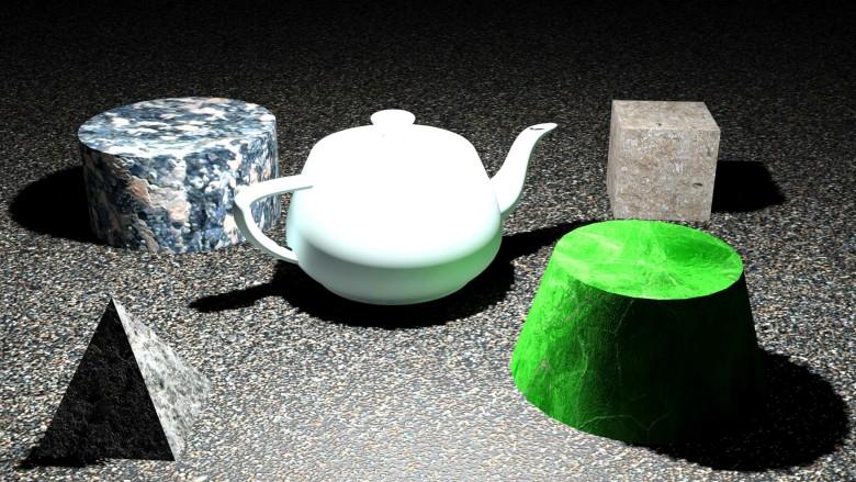 3D modeli 3D Web Vision